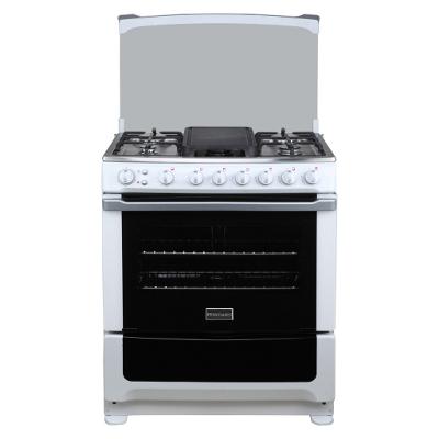 E vision panam estufas frigidaire fkga30m3mjw for Cocina 6 quemadores