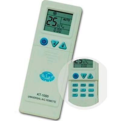 kt 1000 universal ac remote manual
